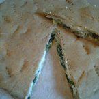 TORTA di BIETOLA e PORRI (75 min + 12 ore per colatura)